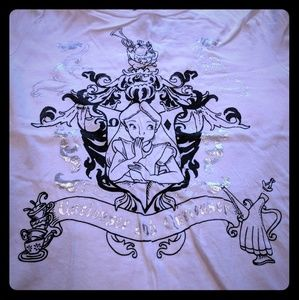 """Curiouser and curiouser"" Alice in Wonderland tee"